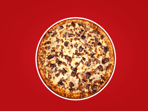 Our classic pepperoni loaded with bacon